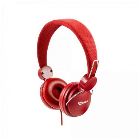 Sbox Koptelefoon HS-736R Strawberry - Rood