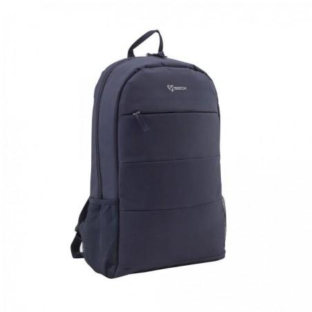 Toronto 15.6 inch laptop tas - Marine blauw