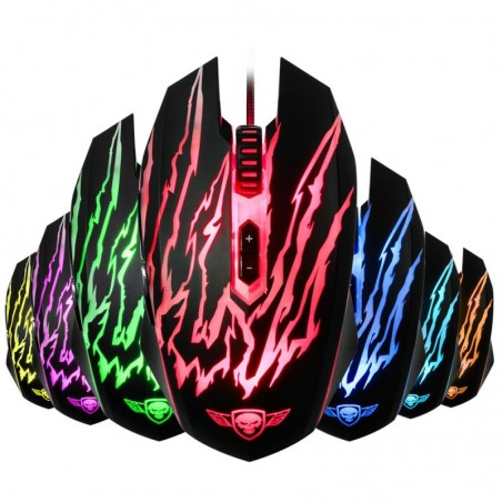 Spirit of Gamer - Elite-40 RGB Scary Optische Gaming Muis - PC