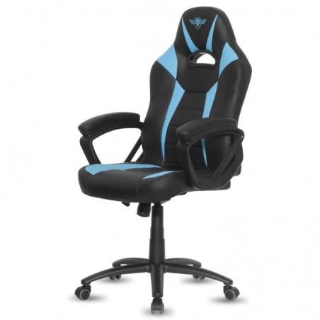 Spirit of Gamer - Fighter Gaming Stoel - Blauw