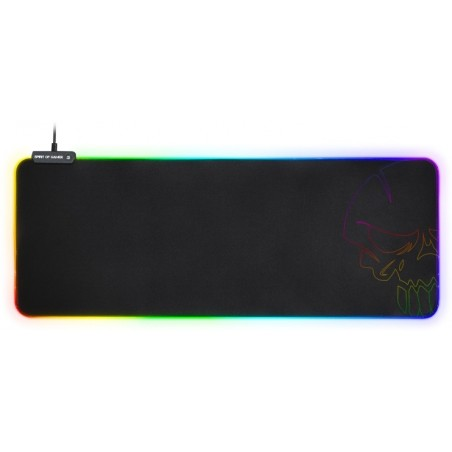 Spirit of Gamer RGB gaming muismat - extra groot - 35 x 25,5 x 0,3 cm