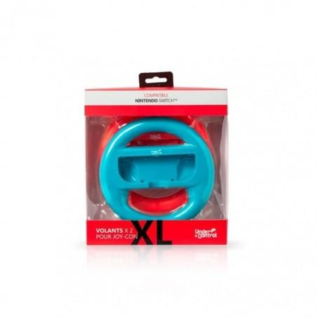 Under Control XL Racesturen Nintendo Switch 2 stuks - Blauw en Rood
