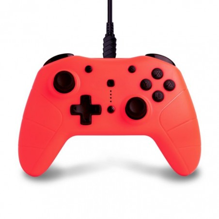Under Control Controller - Nintendo Switch - Bedraad - Rood