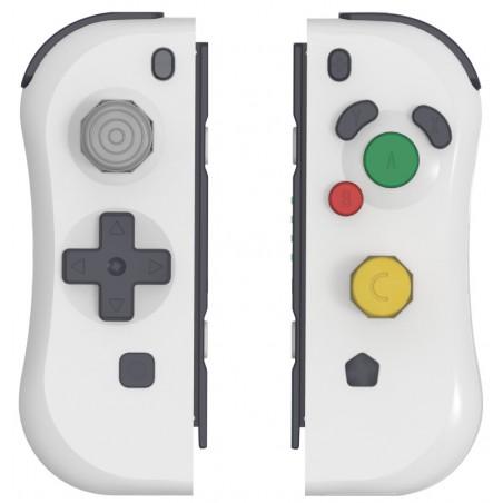 Under Control Nintendo Switch ii-con controller - Nintendo GameCube Stijl - Wit