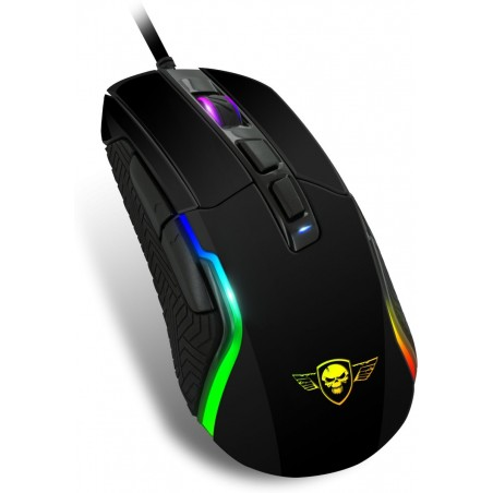 Spirit of GamerPRO-M7 4800 dpi RGB programmeerbare gaming muis