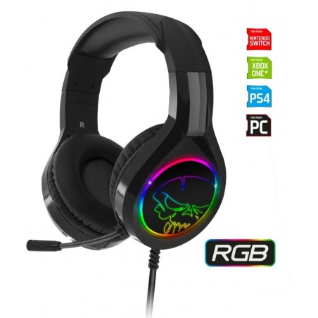 Spirit of Gamer PRO-H8 multiformat RGB gaming headset PC - PS4 - Xbox One - Switch