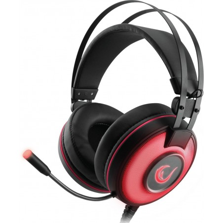 Rampage Gaming Headset ALPHA-X - Dolby 7.1 Surround Sound - PC-PS4-XBOX One - SN-RW66-rood