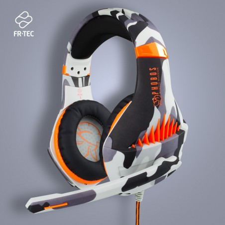 Phobos Winter Warrior gaming headset - Multiformat (PS4/PC/Switch) - HD stereogeluid - 3.5 mm jack
