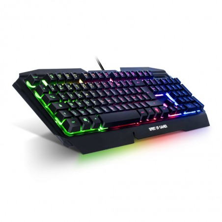 Spirit of Gamer - RGB Gaming Toetsenbord Pro K-5 - Qwerty US-Layout