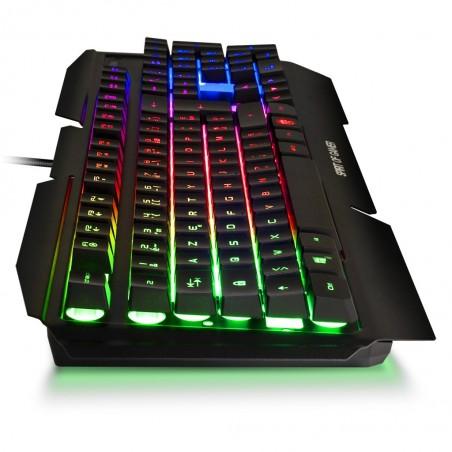Spirit of Gamer - RGB Gaming Toetsenbord Pro K-5 - Qwerty US-Layout