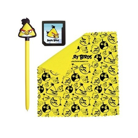 Angry Birds Stylus Set 3 Pieces, Yellow