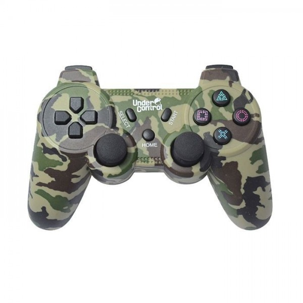 Under Control PS3 Bluetooth Controller Camouflage