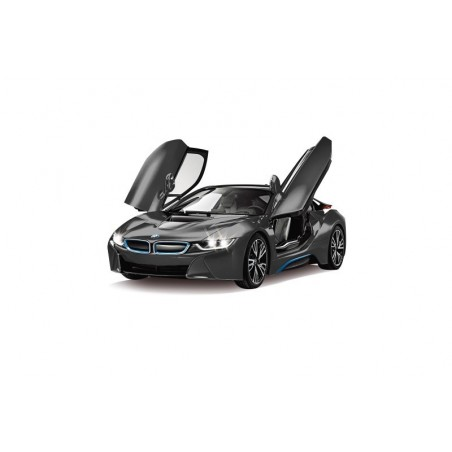 Jamara BMW I8 1:14 black door open via RC