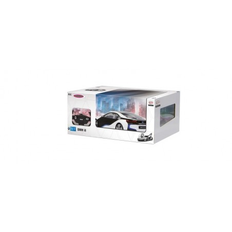 Jamara BMW I8 1:14 white door open via RC