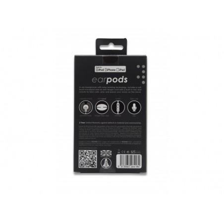 Boompods Earbuds - In-ear koptelefoon speciaal voor iPhone - Zwart