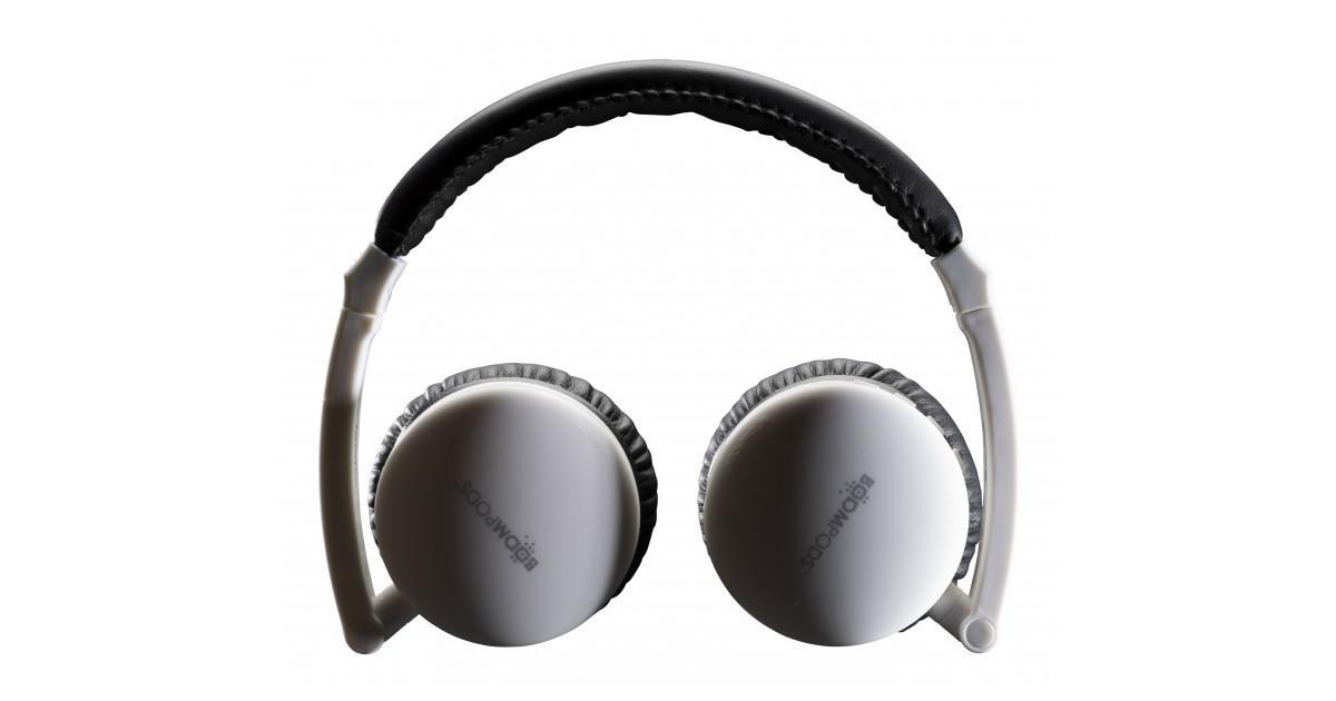 Boompods Skypods - Bluetooth Koptelefoon - Wit