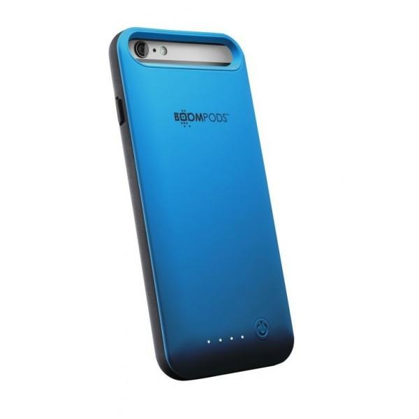 Boompods Power Banks - Oplaad case voor iPhone 6 Plus - Blauw