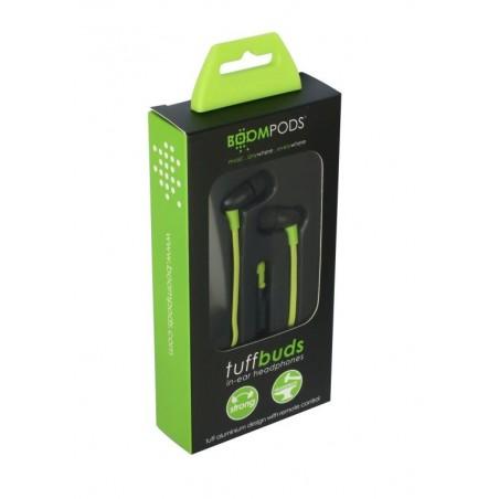 Boompods Tuffbuds In-Ear Koptelefoon met Microfoon  - Groen
