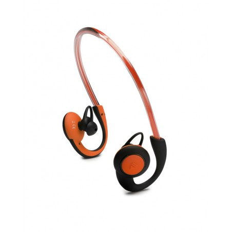 Boompods In-Ear Sports Headphones met Licht - Oranje