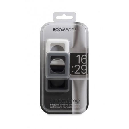 Boompods Boomtime 42mm Triple Pack - Wit / Grijs / Zwart