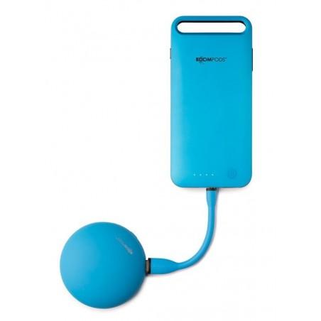 Boompods Flex MFi Lightning kabel (12,5cm) - Android – Oranje