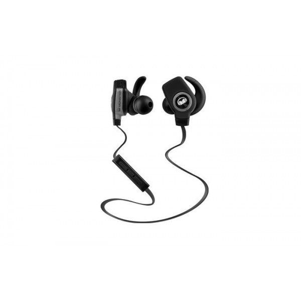 Monster iSport Bluetooth Draadloze SuperSlim In-Ear Koptelefoon Zwart