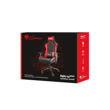 Genesis Nitro550 - Gaming Stoel - Zwart en Rood