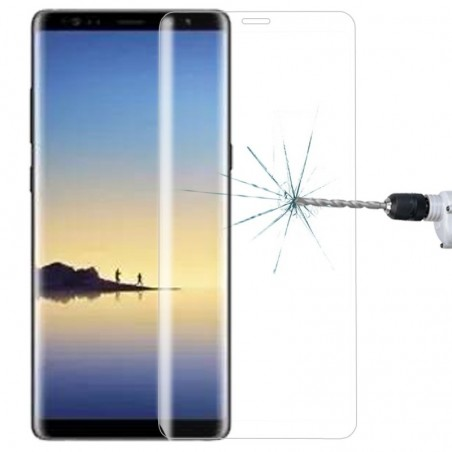 Tuff-luv - Screenprotector tempered glass voor de Samsung Galaxy note 8