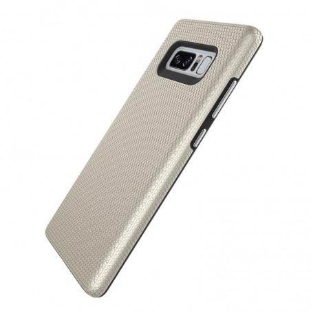 Tuff-luv - Dubbel laags antislip case voor de Samsung Galaxy note 8- goud
