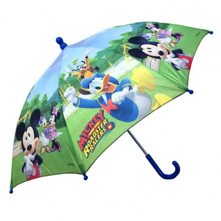 Mickey en Donald kinderparaplu - Safety Runner - Polyester - Diameter 74 CM