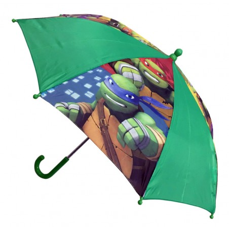 Ninja Turtles kinderparaplu - Safety Runner - Polyester - Diameter 74 CM