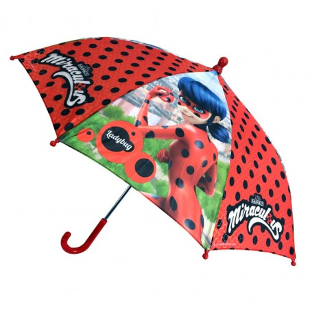 Lady Bug kinderparaplu - Safety Runner - Polyester - Diameter 74 CM