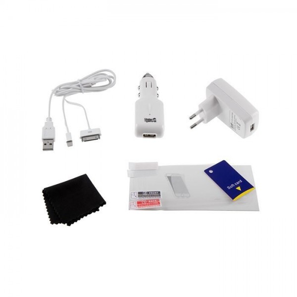 Under Control Accessoirekit voor iPhone 4/5 wit