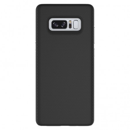 Tuff-luv - Dubbel laags antislip case voor de Samsung Galaxy note 8- zwart