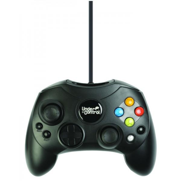 Under Control XBox Controller Zwart, bedraad