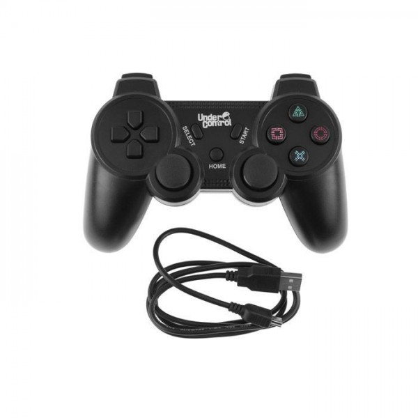 Under Control PS3 Bluetooth Controller Zwart