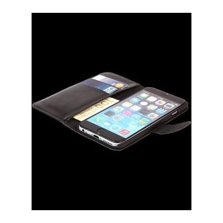 Unit Nice leren hoesje voor iPhone 6 / 6S – Zwart