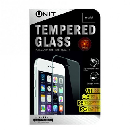 Unit Tempered Glass screen protector voor iPhone 4 / 4S - Transparant