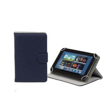 RivaCase Universele Tablet case 7 Inch (Samsung Galaxy Tab 4 7.0, Acer, Asus, Lenovo) - Blauw