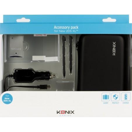 Nintendo 2DS XL - Starterpack - Zwart