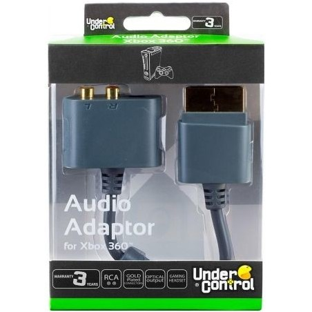 Under Control X360 Audio Adapter