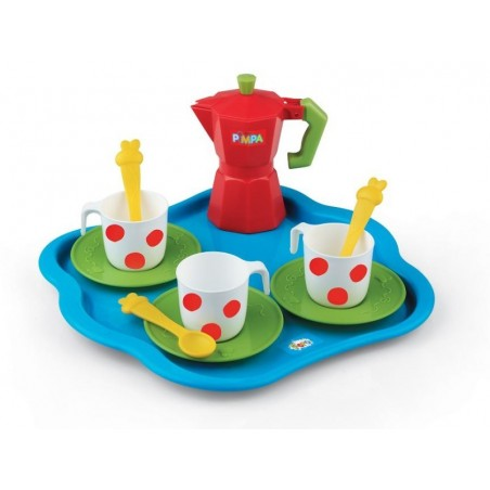 Pimpa Koffieset met Dienblad voor kinderen
