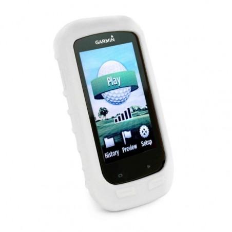 Tuff-Luv Silicone Gel hoes & scherm bedekking voor Garmin Golf Approach G8- Wit