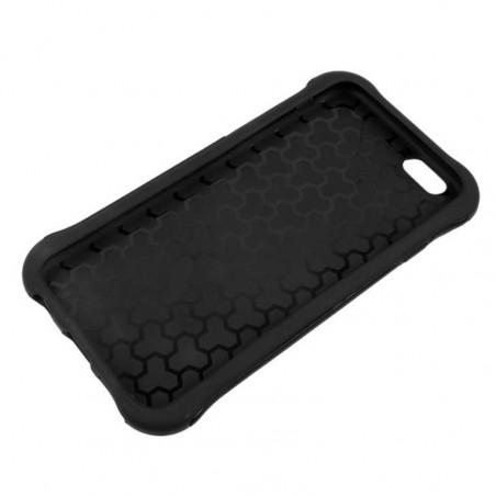 Tuff-Luv - TPU Gel hoes dubbele laag voor Iphone 6 plus en 6S Plus - Zwart