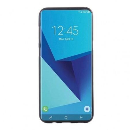 Tuff-Luv - Zachte TPU Case - Voor de Samsung Galaxy S8 - Zwart