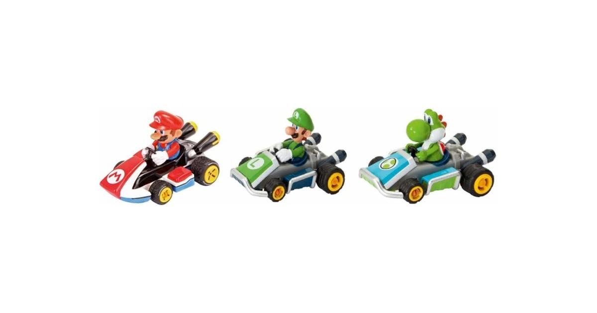 Mario Kart 8 - 3 pack - mario luigi en yoshi