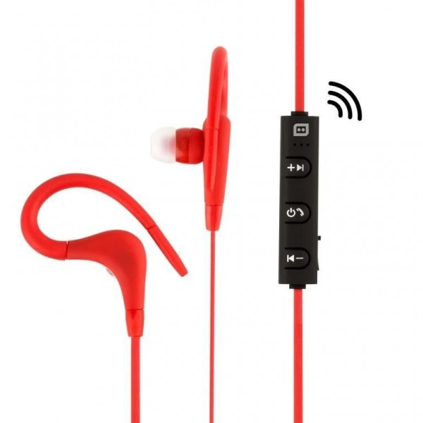 Konix- Fiji bluetooth sport in-ear oortjes -rood