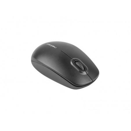 Natec Merlin optische draadloze muis zwart - 1600 dpi