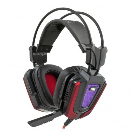 White Shark Puma Black/Red Gaming Headset