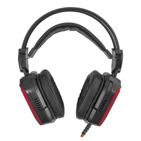 White Shark Puma Black/Red Gaming Headset